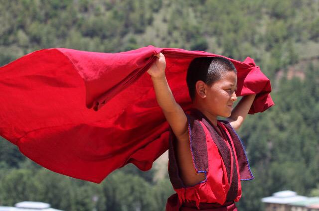 Mönch Bhutan Buddhismus Religion