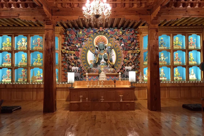 Meditation Tempel Tara Paro Bhutan
