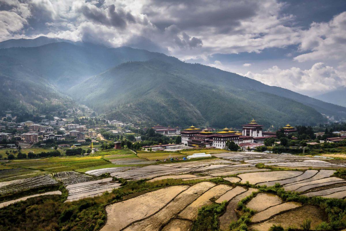 Thimphu Festung Dzong Bhutan