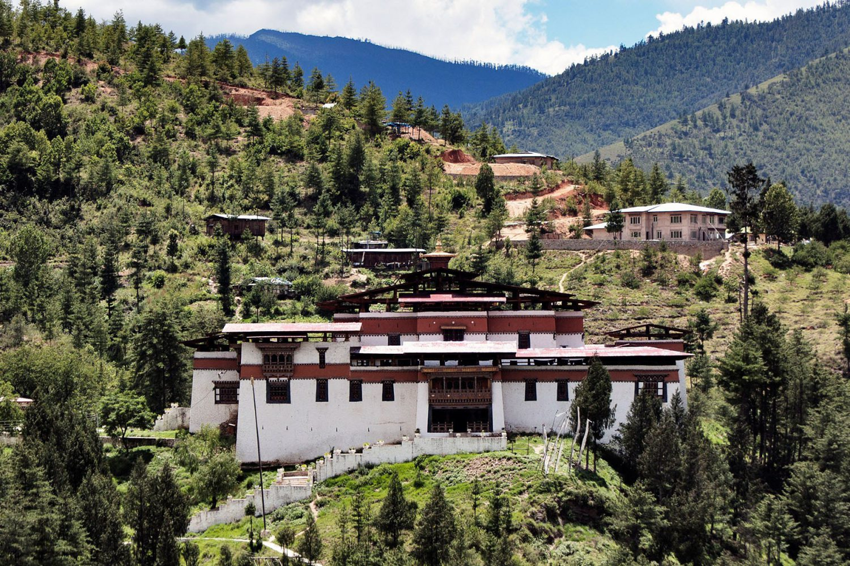 Festung in Bhutan Thimphu Dzong Semtokha