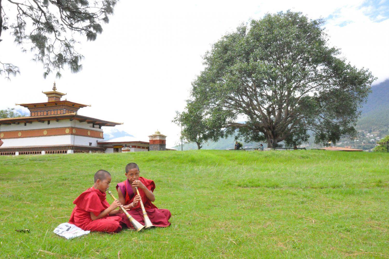 Punakha Mönch Bhutan Drukap Kinley Divine Madman