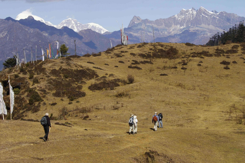 Wanderung Bhutan Paro Druk Path Trekking Himalaya